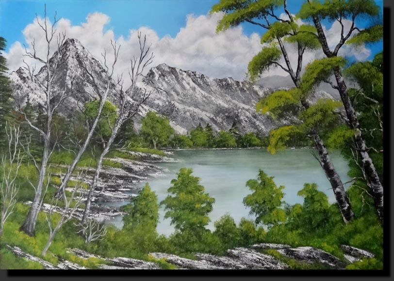 toiles acrylique